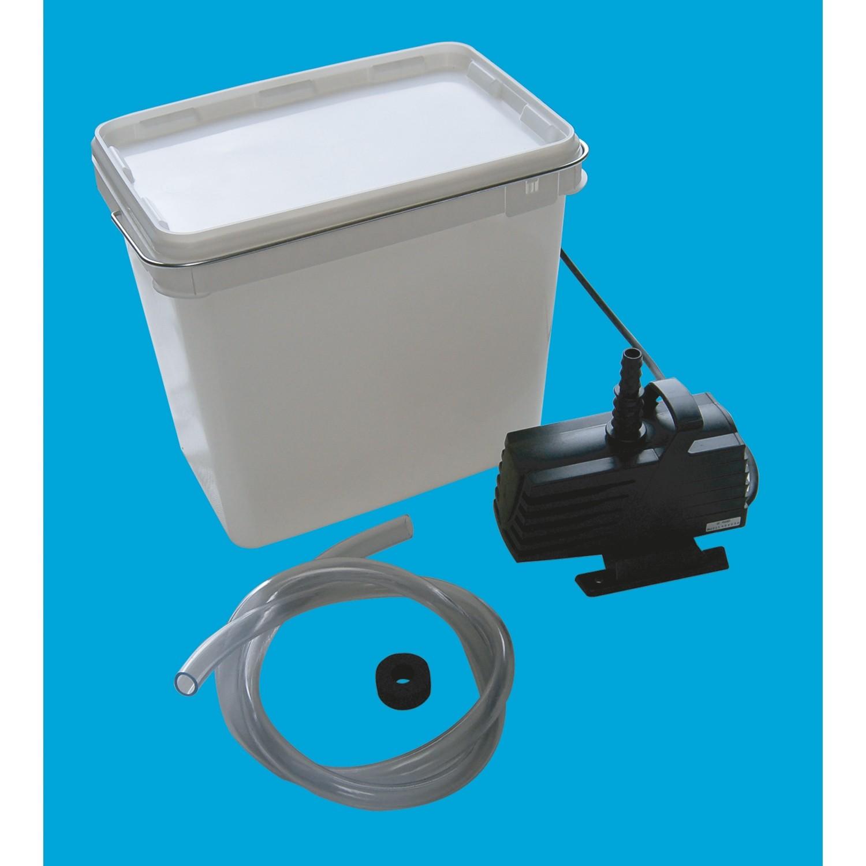 Pumpen-Set 2000 incl. Anschlußmaterial für 1 Wasserspiel