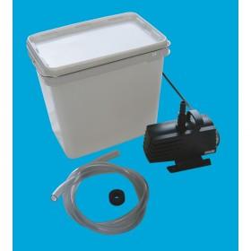 Pumpen-Set 1000 incl. Anschlußmaterial für 1 Wasserspiel