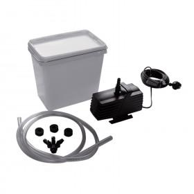 Pumpen-Set 2500 incl. Anschlußmaterial für 3 Wasserspiele
