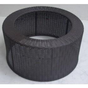 Kunststoff Beckenumrandung für PE45  ca.50cm (außen), H:34cm