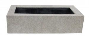 GFK-Beckenumrandung BUG-E140 Granitoptik für E140